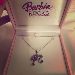 Barbie 18kt Diamond and Sapphire Necklace
